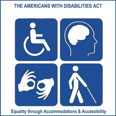 the americans with disabilities act is only This frees the eeoc to sue an employer on behalf of a worker for discrimination under the americans with disabilities act, the age discrimination in employment act, and title vii of the civil rights act of 1964, which bars race and sex discrimination on the job.